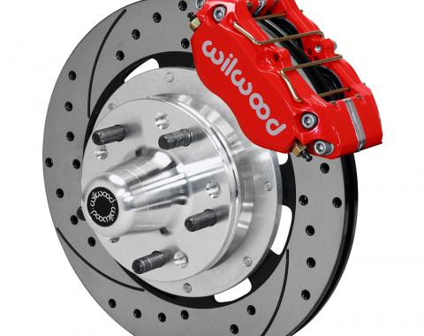 Wilwood Brakes Dynapro Dust-Boot Big Brake Front Brake Kit (Hub), Custom Color 140-13344
