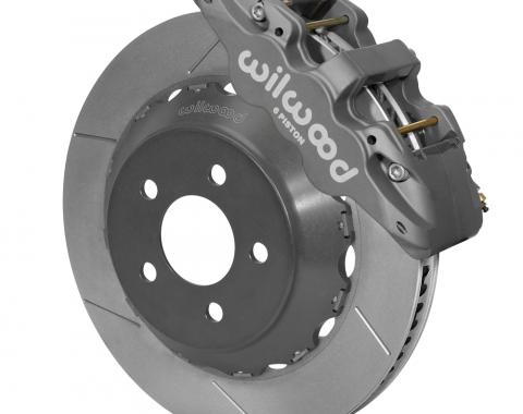 Wilwood Brakes 2015-2018 Ford Mustang AERO6 Big Brake Front Brake Kit (Race) 140-14482
