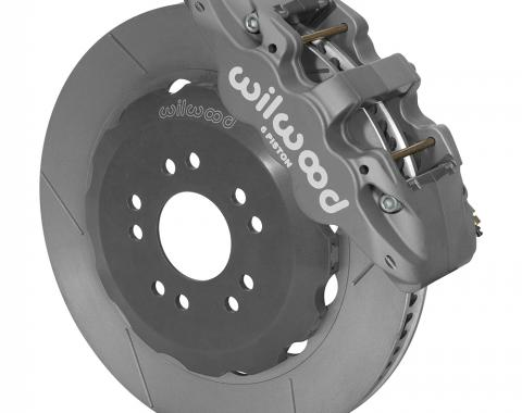 Wilwood Brakes 2005-2014 Ford Mustang AERO6 Big Brake Front Brake Kit (Race) 140-13882