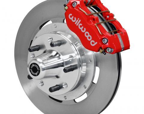 Wilwood Brakes Dynapro Dust-Boot Big Brake Front Brake Kit (Hub) 140-13344-R