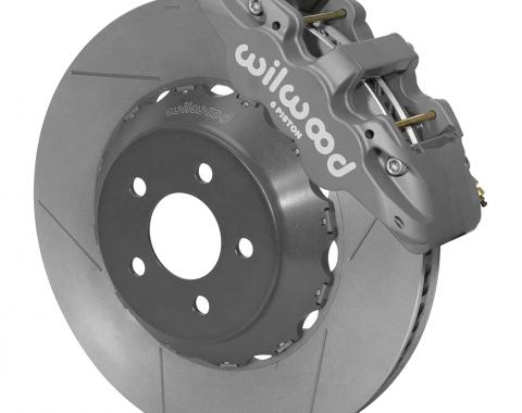 Wilwood Brakes 2015-2018 Ford Mustang AERO6 Big Brake Front Brake Kit (Race) 140-14290
