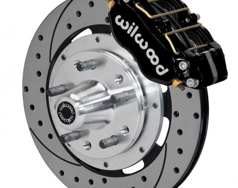 Wilwood Brakes Dynapro Dust-Boot Big Brake Front Brake Kit (Hub) 140-15406-D