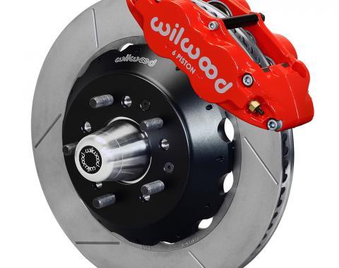 Wilwood Brakes Forged Narrow Superlite 6R Dust-Seal Big Brake Front Brake Kit (Hub) 140-15407-R