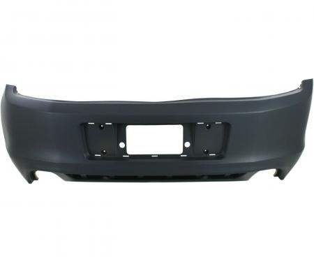 Mustang Rear Bumper Cover, without Rear Object Sensors, 2013-2014