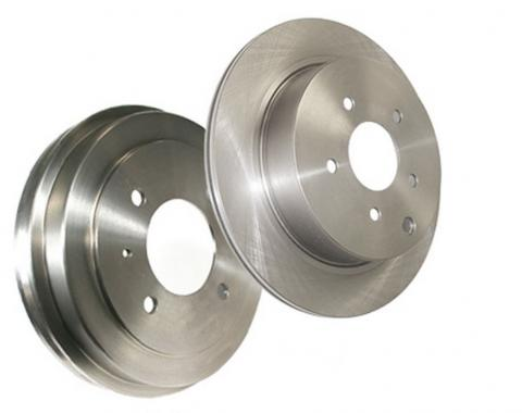 Stop Tech / Power Slot 22861087DL, Brake Rotor, C-Tek Drilled, Silver E-Coated Double Ground, Alloy, Single