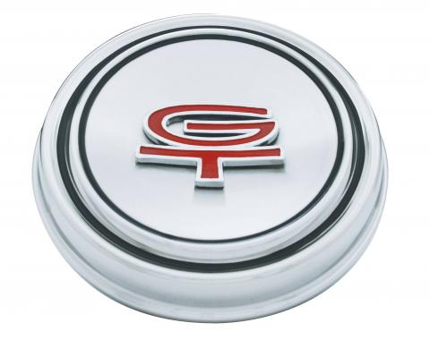 United Pacific Stainless Steel w/GT Emblem Hub Cap For 1968-69 Ford Mustang A6046