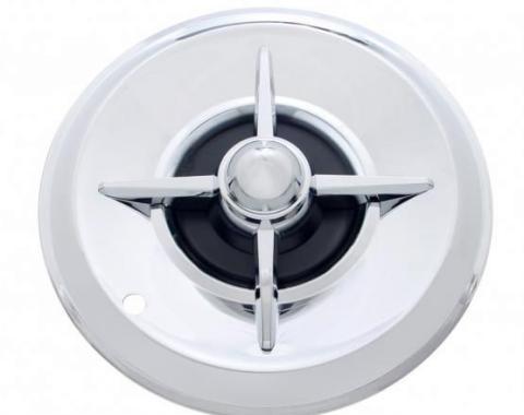 "United Pacific 14"" Chrome Lancer Hub Cap (4/Set) C5031"