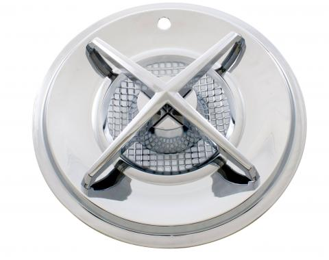 """United Pacific 15"""" Spinner Cross Bar Hubcap C5032"""