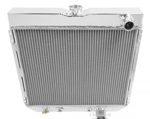 Champion Cooling 2 Row All Aluminum Radiator Made With Aircraft Grade Aluminum EC340