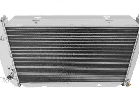 Champion Cooling 2 Row All Aluminum Radiator Made With Aircraft Grade Aluminum EC390