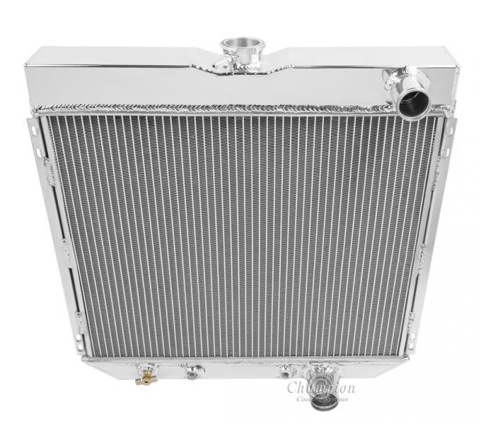 Champion Cooling 3 Row All Aluminum Radiator Made With Aircraft Grade Aluminum CC340B