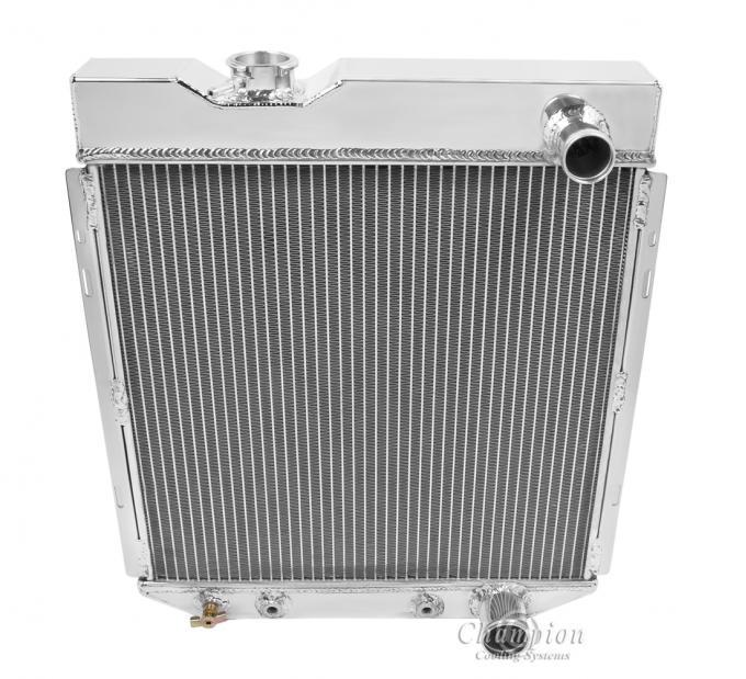Champion Cooling 3 Row All Aluminum Radiator Made With Aircraft Grade Aluminum CC259B