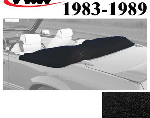BLEM TMI 1983-1989 Ford Mustang Convertible Boot 22-7403-958 | Black