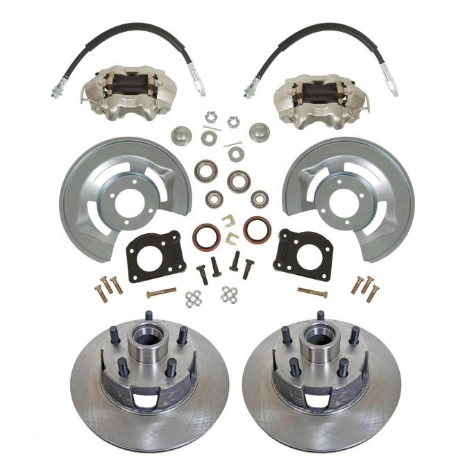 Ford Front Wheel Drum-to-Disc Brake Conversion Kit, 1964-1969