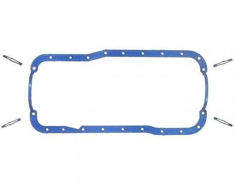 Ford Oil Pan Gasket, One Piece Rubber with Steel Core, for 5.0L Engines