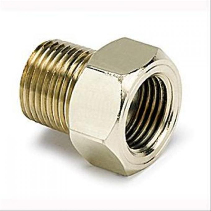 AutoMeter Temperature Adapters, Male 3/8 in. NPT to Female 5/8-18 in, 2263