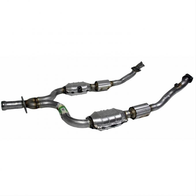 Mustang Direct-Fit Catalytic Converter, V6, 1999-2000