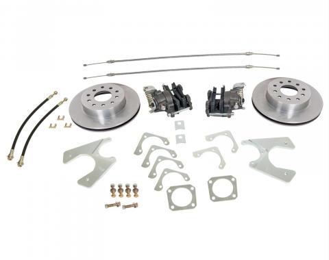 Mustang Rear Wheel Drum-to-Disc Brake Conversion Kit, 1957-1987