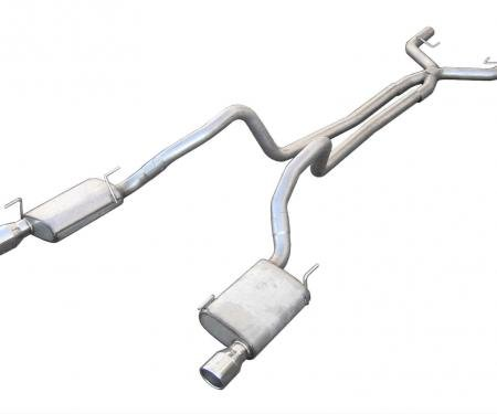 Pypes 2005-2010 Ford Mustang Violator Dual Exhaust System SFM68