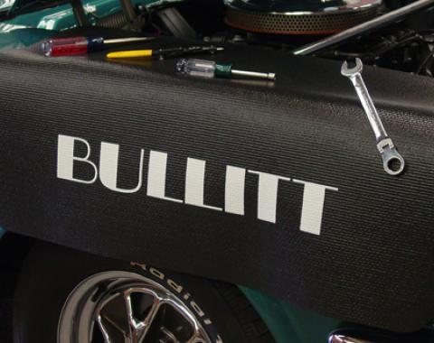 Fender Gripper® Cover, Black with Bullitt Logo