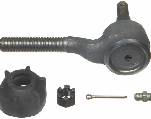 Moog Chassis ES317R, Tie Rod End, Problem Solver, OE Replacement, With Powdered-Metal Gusher Bearing To Allow Grease To Penetrate Bearing Surfaces