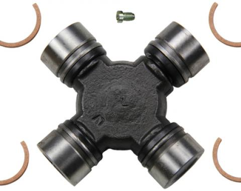 Moog Chassis 235, Universal Joint, OE Replacement, Greasable, Super Strength, With 2 Grooved Bearings