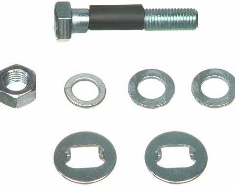 Moog Chassis K928, Alignment Cam Bolt Kit, Problem Solver, OE Replacement, 16 Millimeter Bolts, Double Offset, Minus 1-3/4 To Plus 1-3/4 Degree