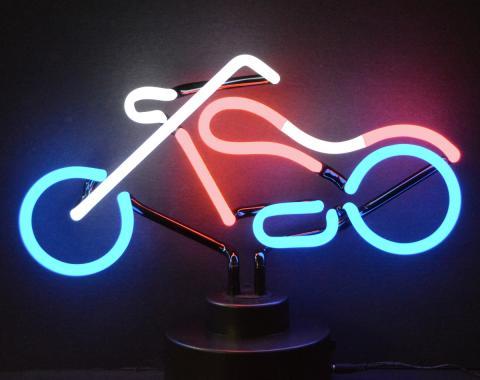 Neonetics Neon Sculptures, Chopper Neon Sculpture