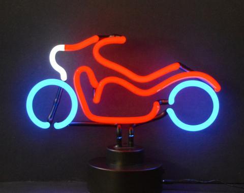 Neonetics Neon Sculptures, Motorcycle Neon Sculpture