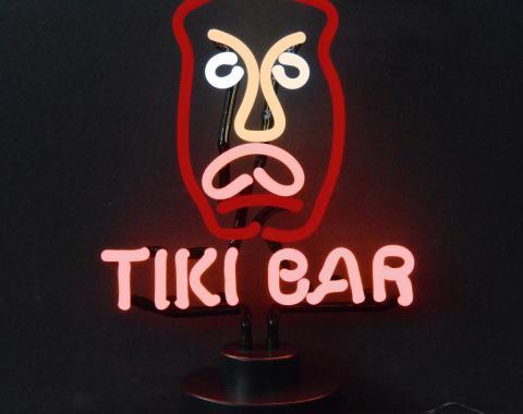 Neonetics Neon Sculptures, Tiki Bar Neon Scuplture