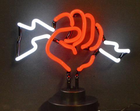 Neonetics Neon Sculptures, Fist with Lightning Neon Sculpture