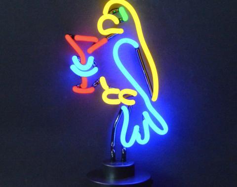 Neonetics Neon Sculptures, Parrot Margarita Neon Sculpture