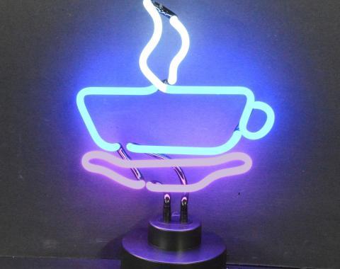 Neonetics Neon Sculptures, Coffee Cup Neon Sculpture