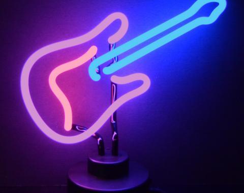 Neonetics Neon Sculptures, Guitar Neon Sculpture
