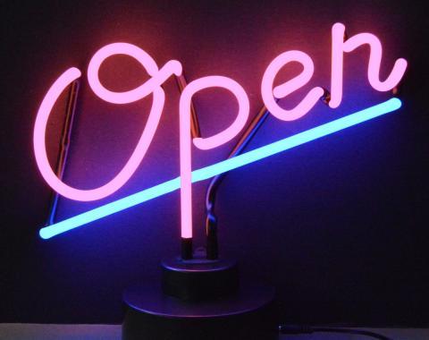 Neonetics Neon Sculptures, Open Neon Sculpture