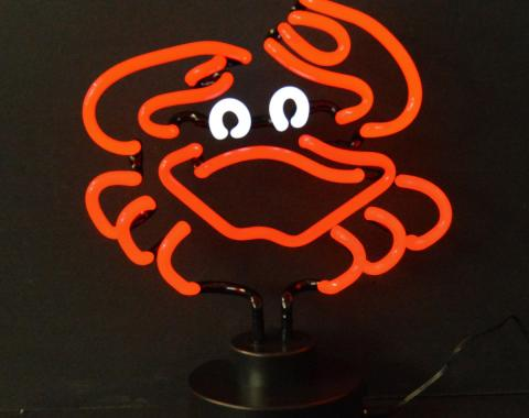 Neonetics Neon Sculptures, Crab Neon Sculpture