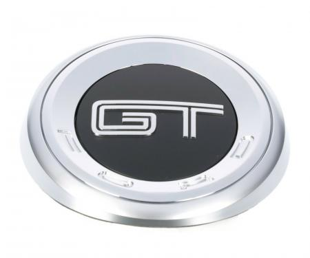 2010-2012 Mustang GT Chrome Gas Cap Emblem Nameplate