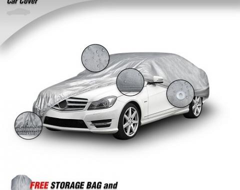 FORD MUSTANG Elite ShieldAll Car Cover, Gray, 1964-2004