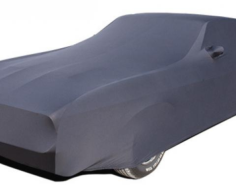Mustang Car Cover Fastback, Onyx Satin Indoor, Black, 1971-1973