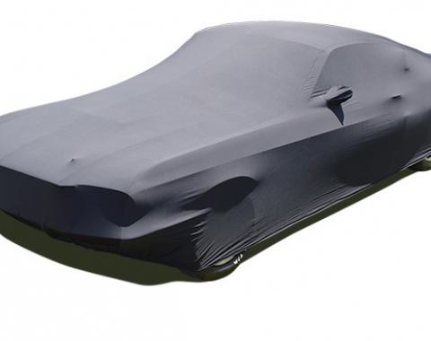 Mustang Car Cover Shelby, Onyx Satin Indoor, Black, 1967-1968