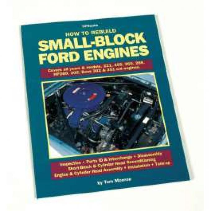 How To Rebuild Small-Block Ford Engines - 160 Pages