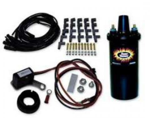 Ignitor Ignition Kit-Chrome Coil