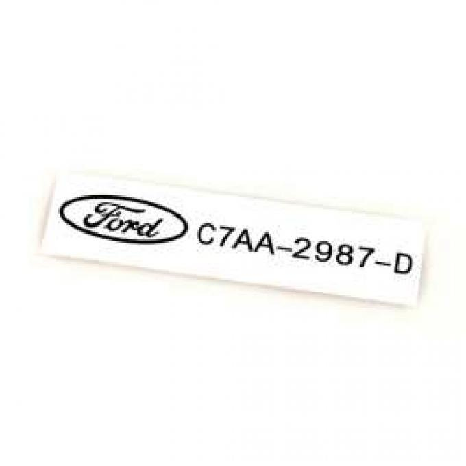 Air Conditioning Clutch Decal