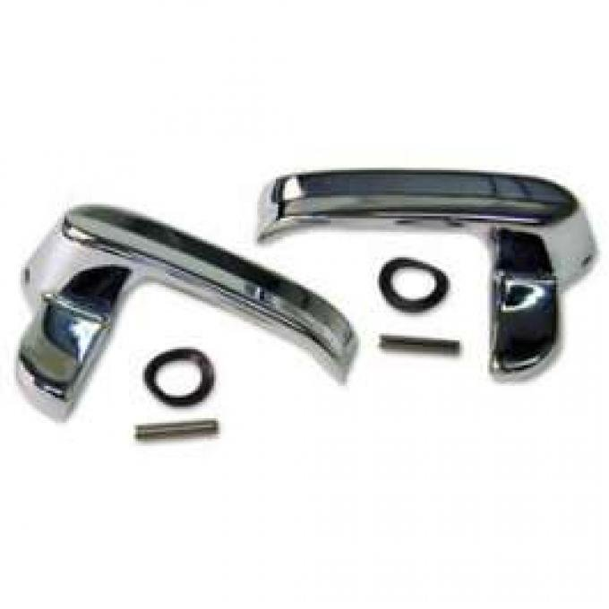 Vent Window Handles - Bright Finish - Right and Left