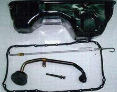 5 Qt. Small Block Double Hump Oil Pan Kit