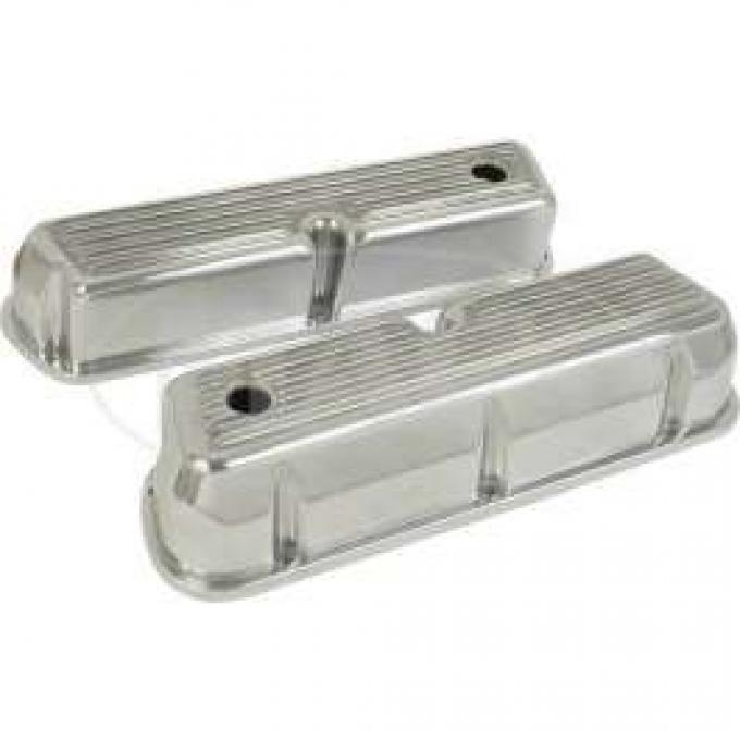 SMALL BLOCK TALL FINNED COVER-POLISHED