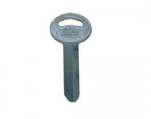 Trunk, Tailgate or Glove Box Key Blank - Double Sided