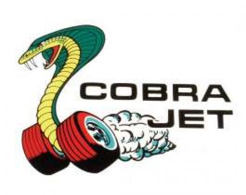 Window Decal - Cobra Jet