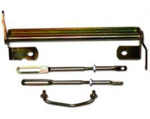 Carburetor Linkage, 3 x 2, Small Block, 1957-1979