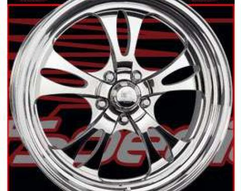 Street Smart Fast Lane Billet Wheel 15 X 12